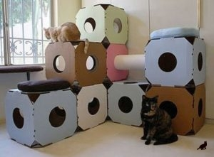 Домик для кошки 2