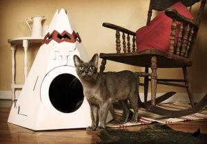 Домик для кошки 1